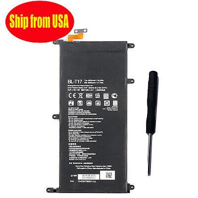 Tool for LG G PAD X 8.3 VK815 V520 4800mA New BL-T17 Internal Battery