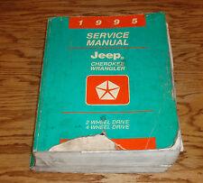 Original 1995 Jeep Cherokee / Wrangler Shop Service Manual 95