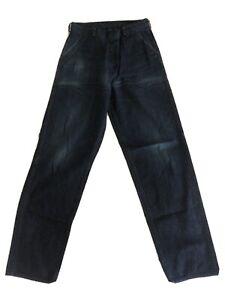 Tcb Jeans Pantalones Talla 30 Azul Marino Cubierta Ebay