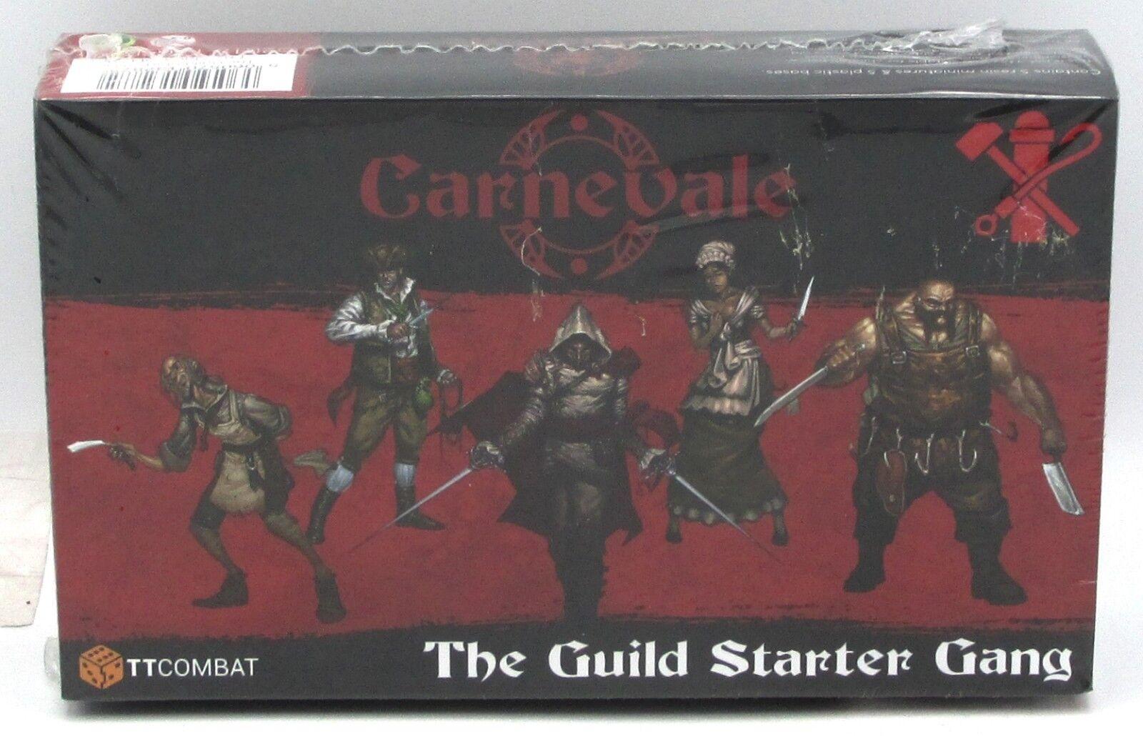 Carnevale TTC-CMGX-GLD-001 The Guild (Starter Gang) Secret Society TTCombat NIB