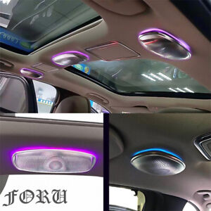 7/64-color For Mercedes-Benz S-Class W222 LED Ceiling Speaker Ambient Light