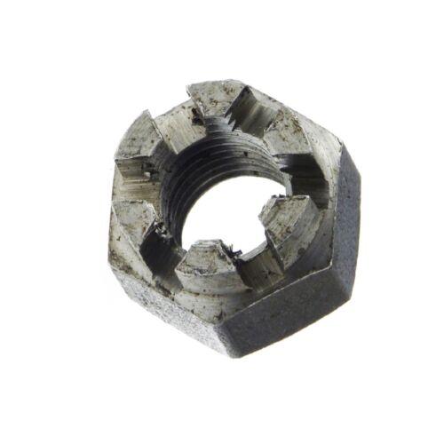 Kronenmuttern Kronenmutter Kronen Muttern 6 AU DIN 935-1 Stahl blank