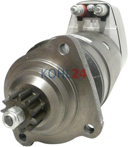 Made in Germany Anlasser für Liebherr Motor D926TI0001417071 24 Volt 6,6 KW