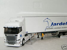 SCANIA STREAMLINE HIGHLINE SEMI FRIGO TRANSPORTS JARDEL ELIGOR 1/43 Ref 115705
