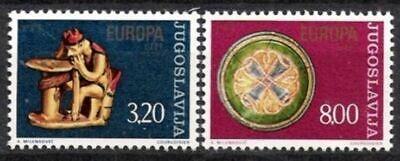 Postfrisch Cept 1976 Jugoslawien Nr.1635/36 ** Europa