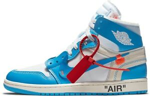 Air Jordan 1 Off White UNC Powder Blue size 14 Retro AQ0818 148  81ce2a355