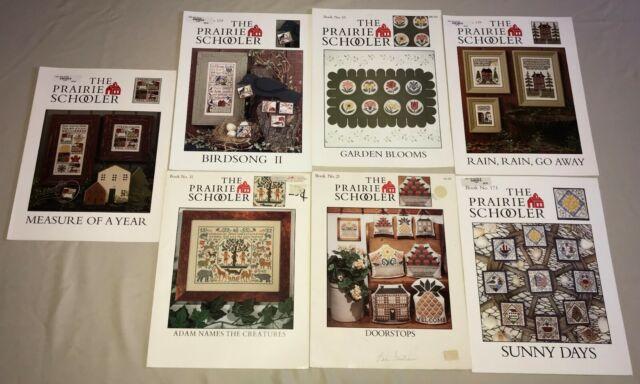 Just Hatched Spring Egg Ornaments Prairie Schooler Cross Stitch Pattern Book 107