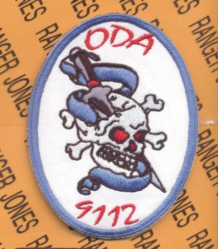 1st Bn 19th Special Forces Group Airborne SFGA ODA 9112 OEF OIF patch