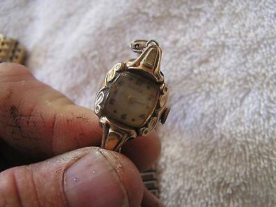 Vintage Bulova L3 Watch 10K Rolled Gold Plate Bezel 17 ...