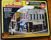 Woodland Scenics Ho 5182 Main Street Merchantile (kit)