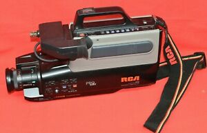 Rca Pro Edit Cc311 Full Size Vhs Camcorder Video Recorder Player Parts Or Repair Ebay