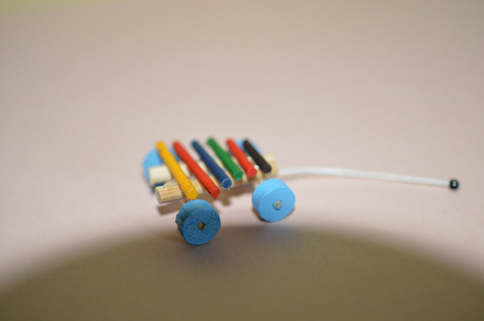 Cute 1:12 Scale Dollhouse Miniature Xylophone Childrens Toy NEW #IM65378