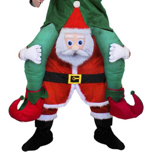 Babbo natale o renna Rudolph Costume Novità prendermi Natale Fancy Dress