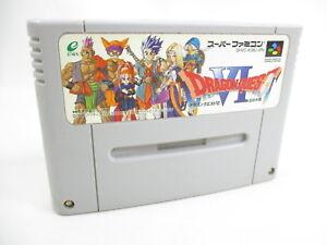 DRAGON-QUEST-VI-6-Super-Famicom-Nintendo-Free-Shipping-sfc