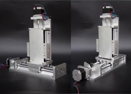 SBR Rail Precision Cross Slide 1605 Ballscrew Linear CNC Slide Stroke 100-1000mm