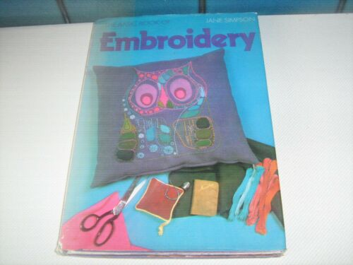 THE BASIC BOOK OF EMBROIDERY BY JANE SIMPSON 1973