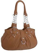 NEW LADIES//WOMEN HANDBAG ORGANISER SHOULDER BAG REAL LEATHER IN COWHIDE ML3747