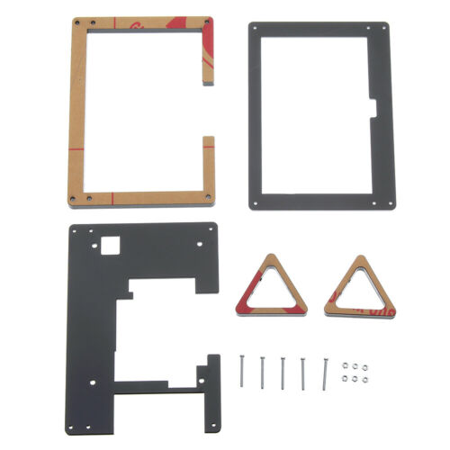 5 Inch LCD Screen Display Acrylic Case Stander Holder Set For Raspberry Pi 3 B