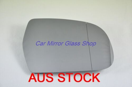check measurement MIRROR GLASS HEATER RIGHT DRIVER SIDE AUDI A5 2011