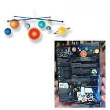 4M Toysmith Glow-in-the-Dark Solar System Mobile Making Sciene Space Kit 3450