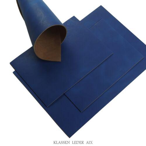 Rindsleder Schwarz 2,5 mm Dick Stück Croupon Echt Leder LARP Leather 172