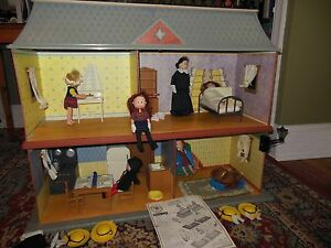 Image Is Loading MADELINE OLD HOUSE IN PARIS DOLL HOUSE FULLY