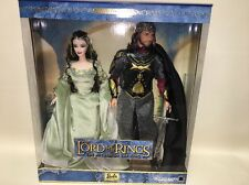 NRFB/MIB: 2003 The Lord Of The Rings Arwen & Aragon Set