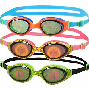e4abbbc94a SPEEDO HOLOWONDER JUNIOR SWIMMING GOGGLES KIDS AGES 6 - 14 YEARS UV ...
