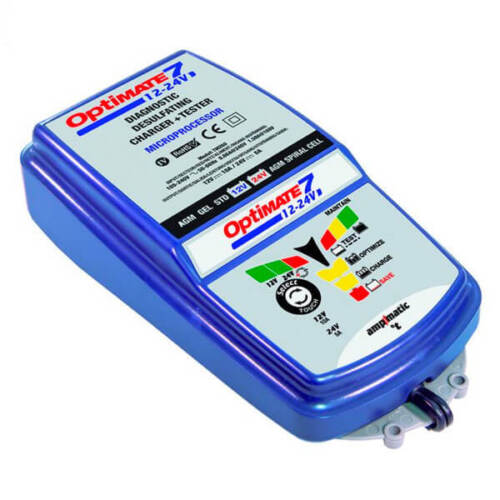 Optimate 7 12V/ 24V Motorcycle Motorbike Battery Charger Maintenance M79-TM262
