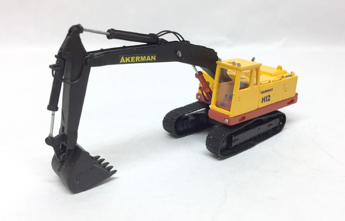 Modelo terminado resin ho 1 87 excavadoras Akerman h12-fankit Models