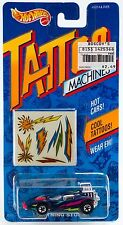 Hot Wheels Tattoo Machines Lightning Storm Flame Runner New On Card 1992