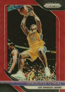 2018-19-Panini-Prizm-Basketball-Ruby-Wave-Parallel-35-Shaquille-O-039-Neal-Lakers