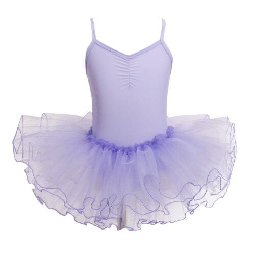 Baby Girls Kids Leotard Dance Dress Costumes Lace Ballet Tutu Skirt Dancewear