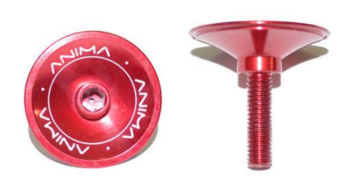 serie sterzo in Alluminio ANODIZZATO per 4.8 grammi Tappo integrato manubrio