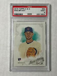 KRIS-BRYANT-2015-Topps-Allen-amp-Ginter-ROOKIE-RC-85-PSA-MINT-9-CHECK-MY-ITEMS