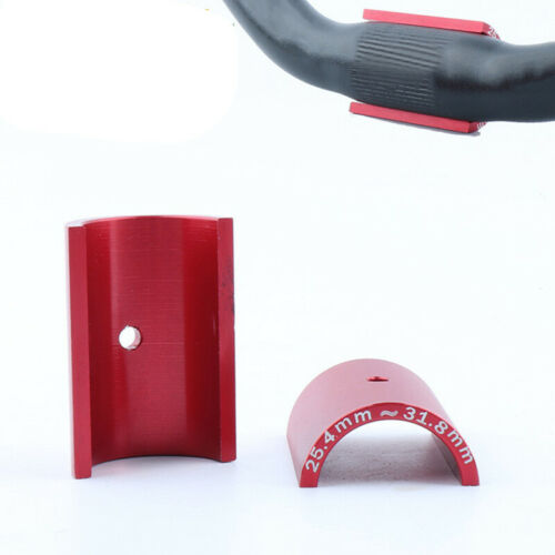 1Pair Bicycle Bike Handlebar Bar Shim Spacer Stem Reducer 25.4mm To 31.8mm Red S