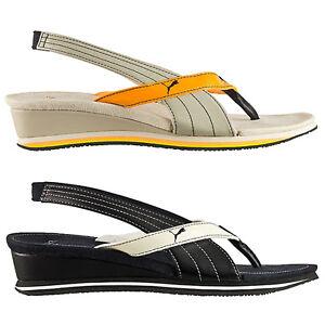 puma eva damen sandalen zehentrenner riemchensandalen sandaletten schuhe neu. Black Bedroom Furniture Sets. Home Design Ideas