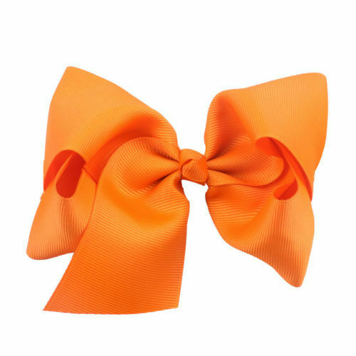 1PC Girls Hair Clip Alligator Hairpin Big Ribbon Bow Barrette Hair Accessories