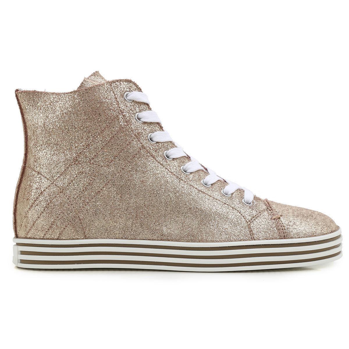 HOGAN REBEL zapatos mujer zapatos mujershuhe zapatillas zapatillas zapatillas 100%AUTHENTIC talco  Precio por piso