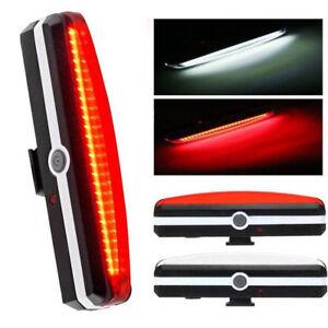 Luce-Ricaricabile-USB-Posteriore-COB-LED-Impermeabile-per-Bici-Bicicletta