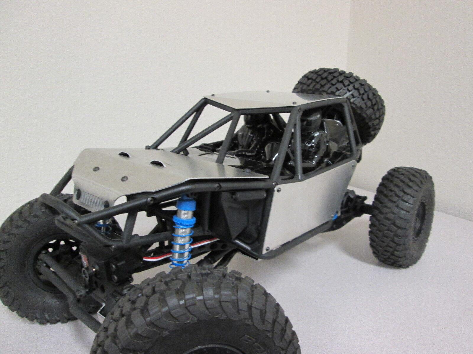 Axial Bomber RR10 Deluxe PANEL de cuerpo de aluminio Kit