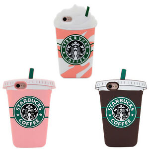 buy popular 67252 ea8a0 Details about Starbucks 3D Phone Case For iPhone X XS Max XR SE 5 6 7 8  Plus Samsung S6 S7 S8