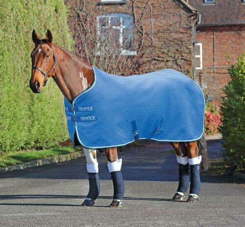 Shires Tempest Horse//Pony Original Waffle Rug in Royal