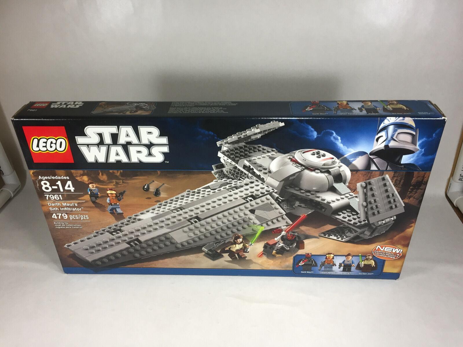 LEGO STAR WARS DARTH MAUL'S SITH INFILTRTOR 7961