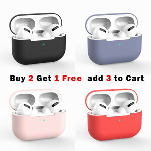 For Apple AirPods Pro Case Airpods Case Shockproof Silicone Cover Slim Skin
