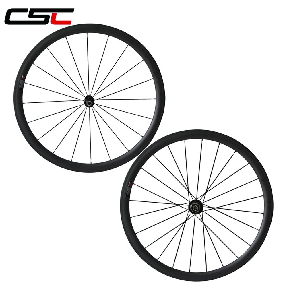 1350g only 38mm Clincher carbon bicycle road SAT  wheels tubeless compatible  healthy