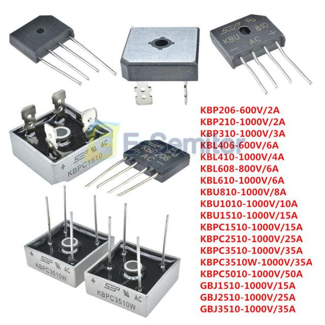 2W06G 2 PCS RECTIFIER BRIDGE 2A 600V WOG