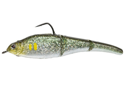 Gummifisch Köder // soft bait Sebile Magic Swimmer Soft 10,5cm 10g 4+1 pcs
