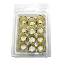 12 Pack 0.400 Id X 0.710 0.5 Mm Wall Thickness Brass Hose Ferrules - F4250-12