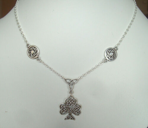 """Celtic Knot Tree of Life Pendant 16/"""" Chain Necklace Pagan Wiccan Sacred Oak"""